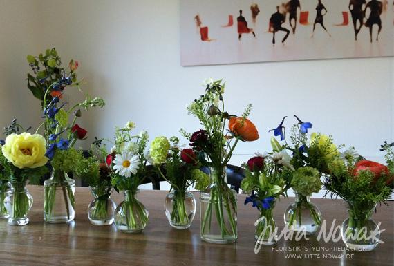 Tischdeko Blumen Fur Feste Floristik Jutta Nowak Wetter Witten