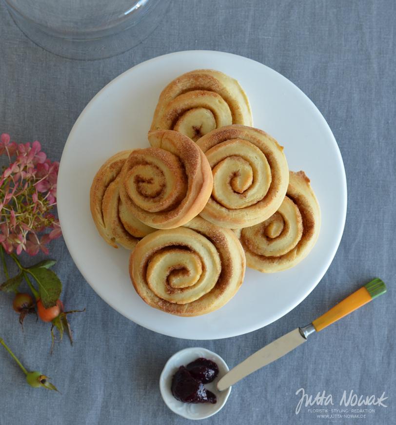 Rezept für schwedische Zimtschnecken von Jutta Nowak