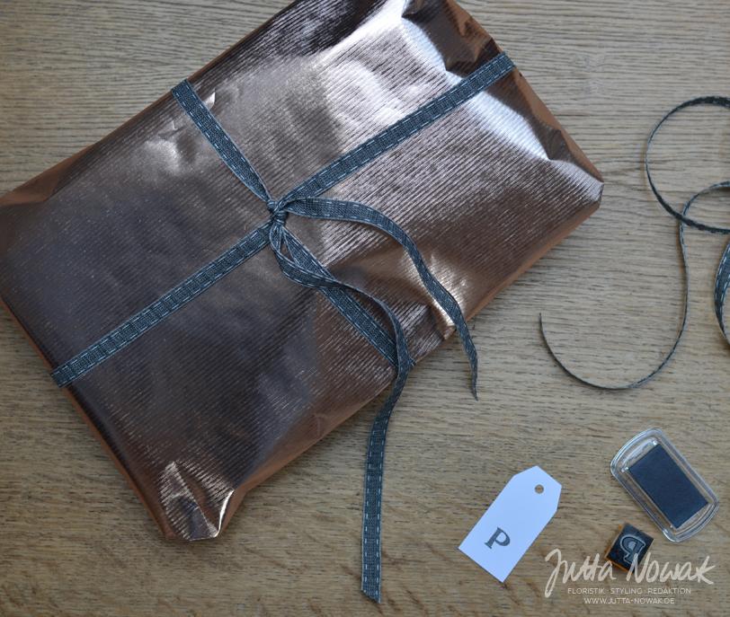 Jutta Nowak I Blog I 12 von 12 Januar 2016 I Geschenk einpacken