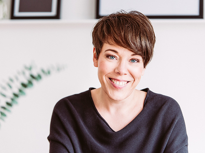 Jutta Nowak I Porträt-Shooting I Fotos: designparaplus