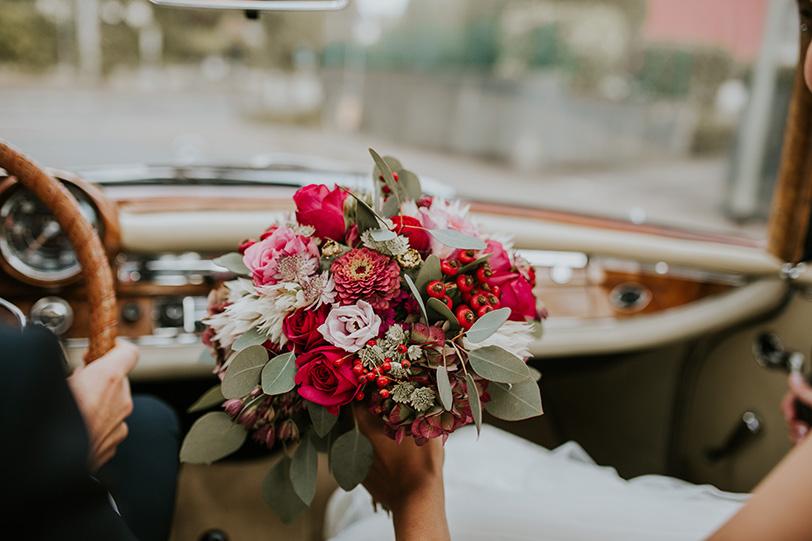 Hochzeit Farbenvielfalt In Rot Jutta Nowak