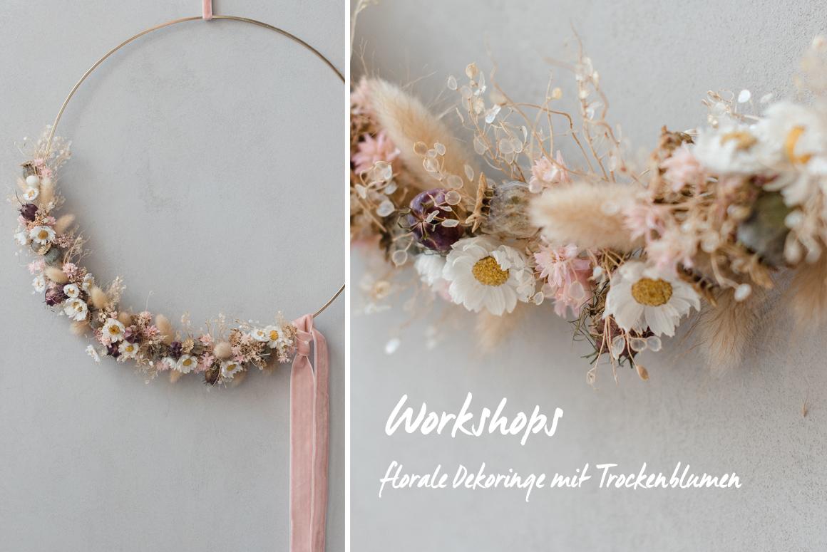 Jutta Nowak I Floristik I Workshops I Dekoringe mit Trockenblumen