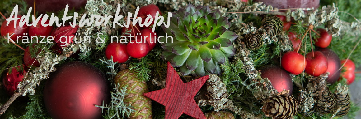 Jutta Nowak I Floristik I Workshops Advent 2019