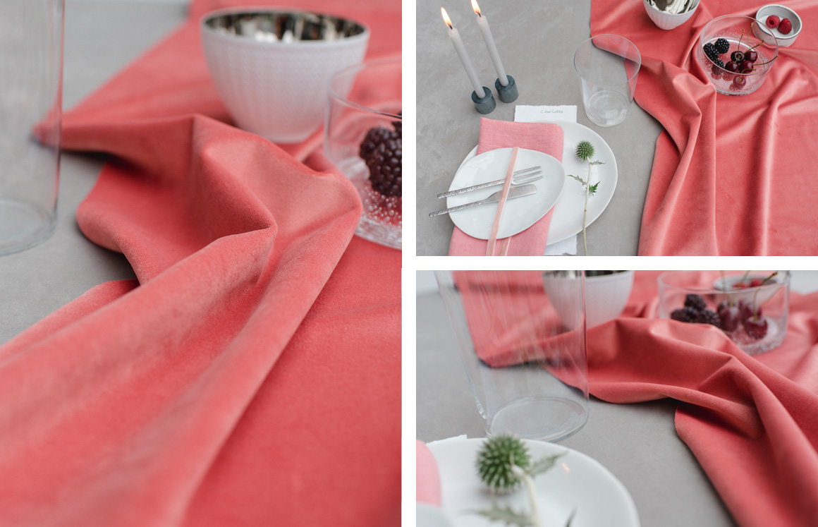 Jutta Nowak I Produkt-Styling für Halbach Seidenbänder I Sommer 2020